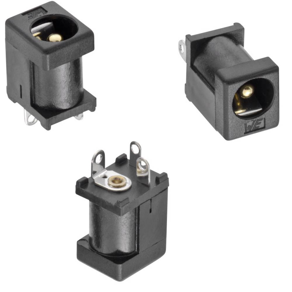 Würth Elektronik Niedervolt-Steckverbinder Buchse Einbau vertikal 5.50 mm 2.05