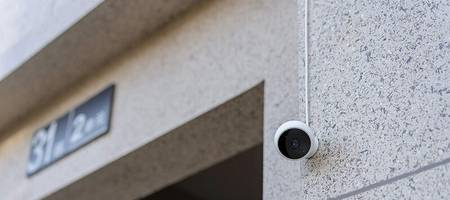 Überwachungskameras im Außenbereich