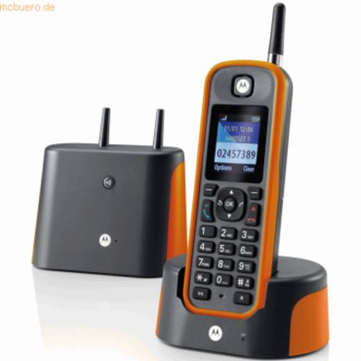 Motorola O211 Dark Grey/Orange