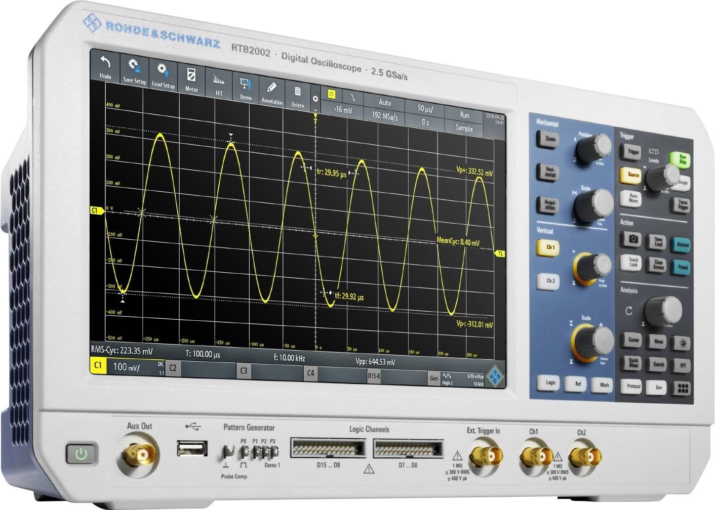 Rohde & Schwarz RTB2002EDU Digital-Oszilloskop 70 MHz 2-Kanal