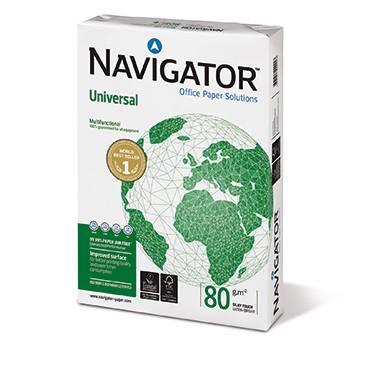 Navigator Organizer//COP080C1 DIN A4 hochwei/ß gelocht 80 g//qm Inh.500