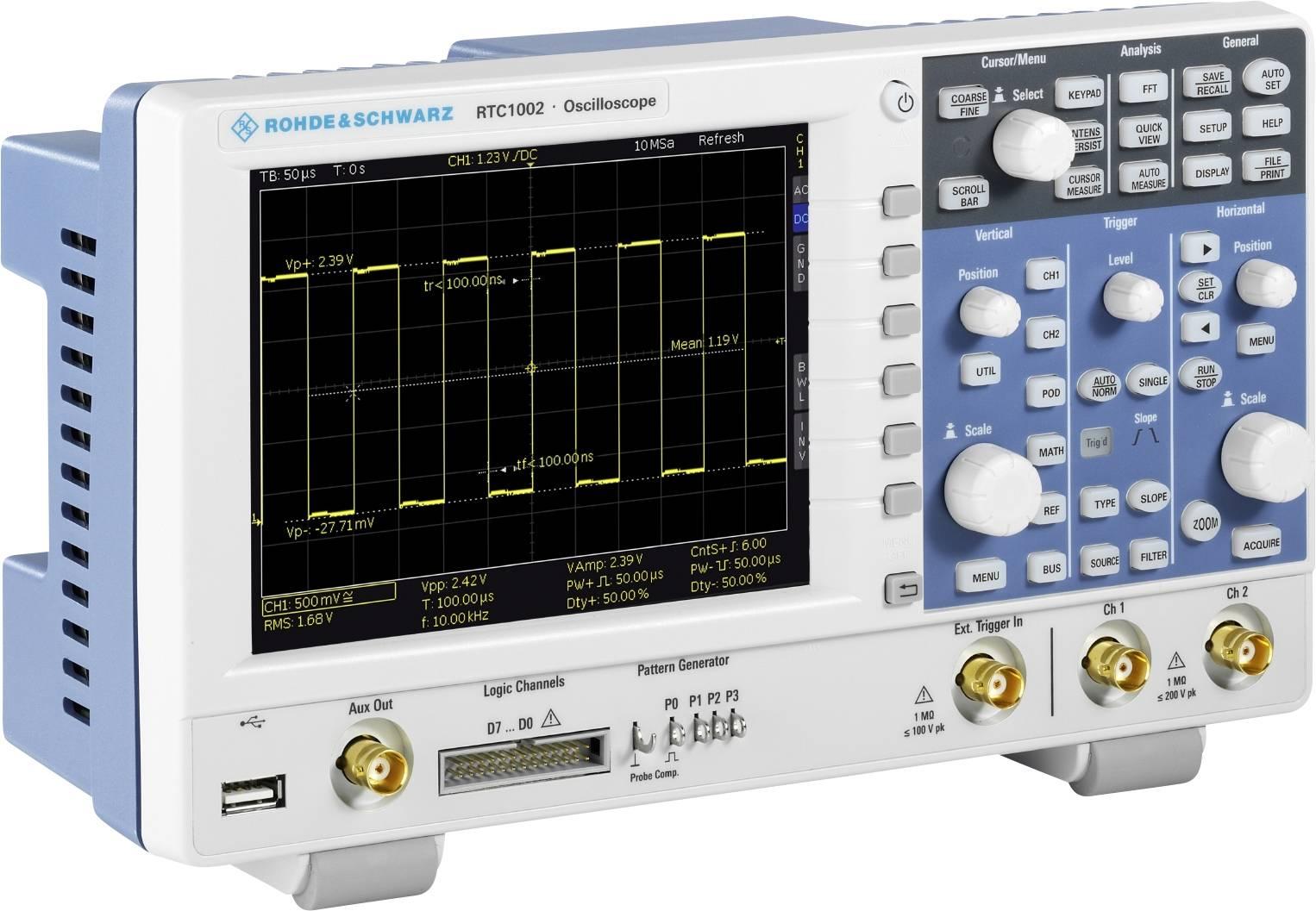 Rohde & Schwarz RTC1002EDU Digital-Oszilloskop 50 MHz 2-Kanal