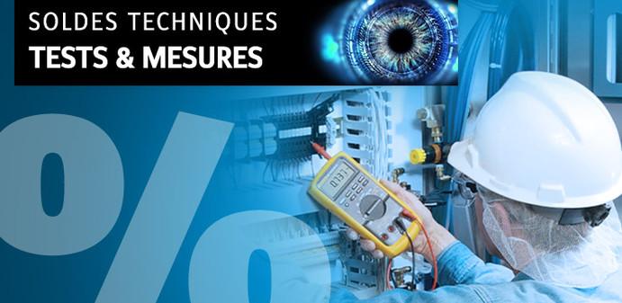 Soldes techniques - appareils de mesure