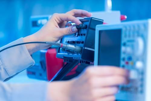 Tastkpfe werden mit Oszilloskopen eingesetzt