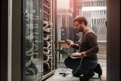 Serverraum-Überwachung