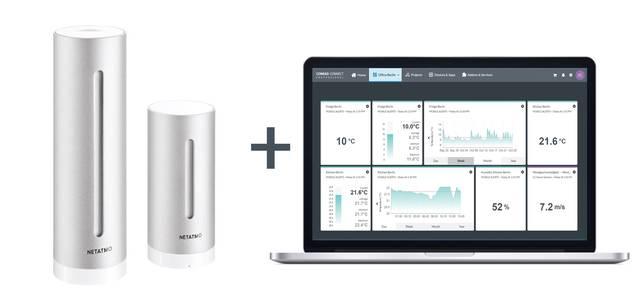 Automatische Überwachung der Luftqualität mit Conrad Connect