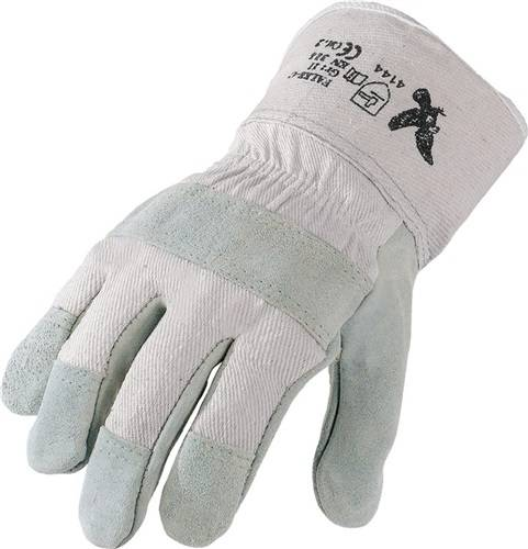 PROMAT Handschuhe Flex Größe 9 grau//schwarz EN 388 Kategorie II 12 Paar