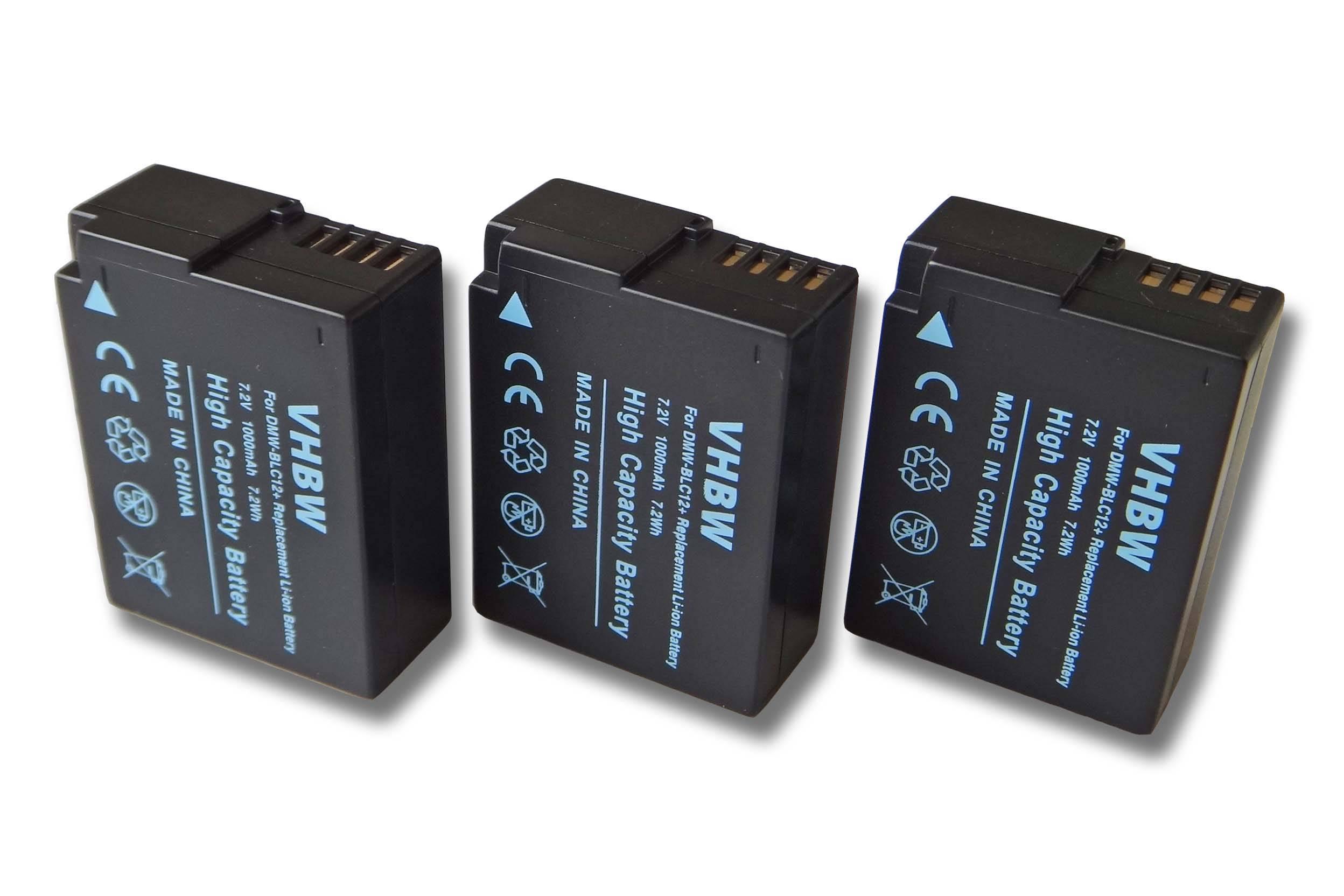 Akku Ladegerät von vhbw für Panasonic DMW-BLC12 DMW-BLC12E E