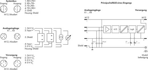WAGO Kontakttechnik Eingangsmodul Analog 4AI U/I 767-6401