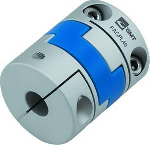 Aluminium-Oldham-Wellenkupplung D1//D2 Bohrungsdurchmesser 25mm//35mm