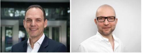 Ralf Bühler (CE) und Christian Hubmann (bewegewas)