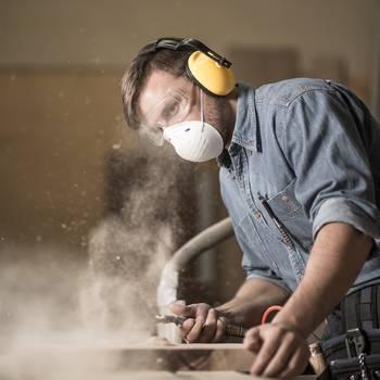 Atemschutz beim Arbeiten