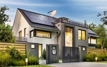 Solaranlage Haus