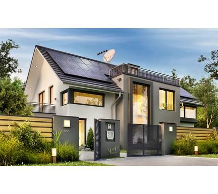 Solar system house