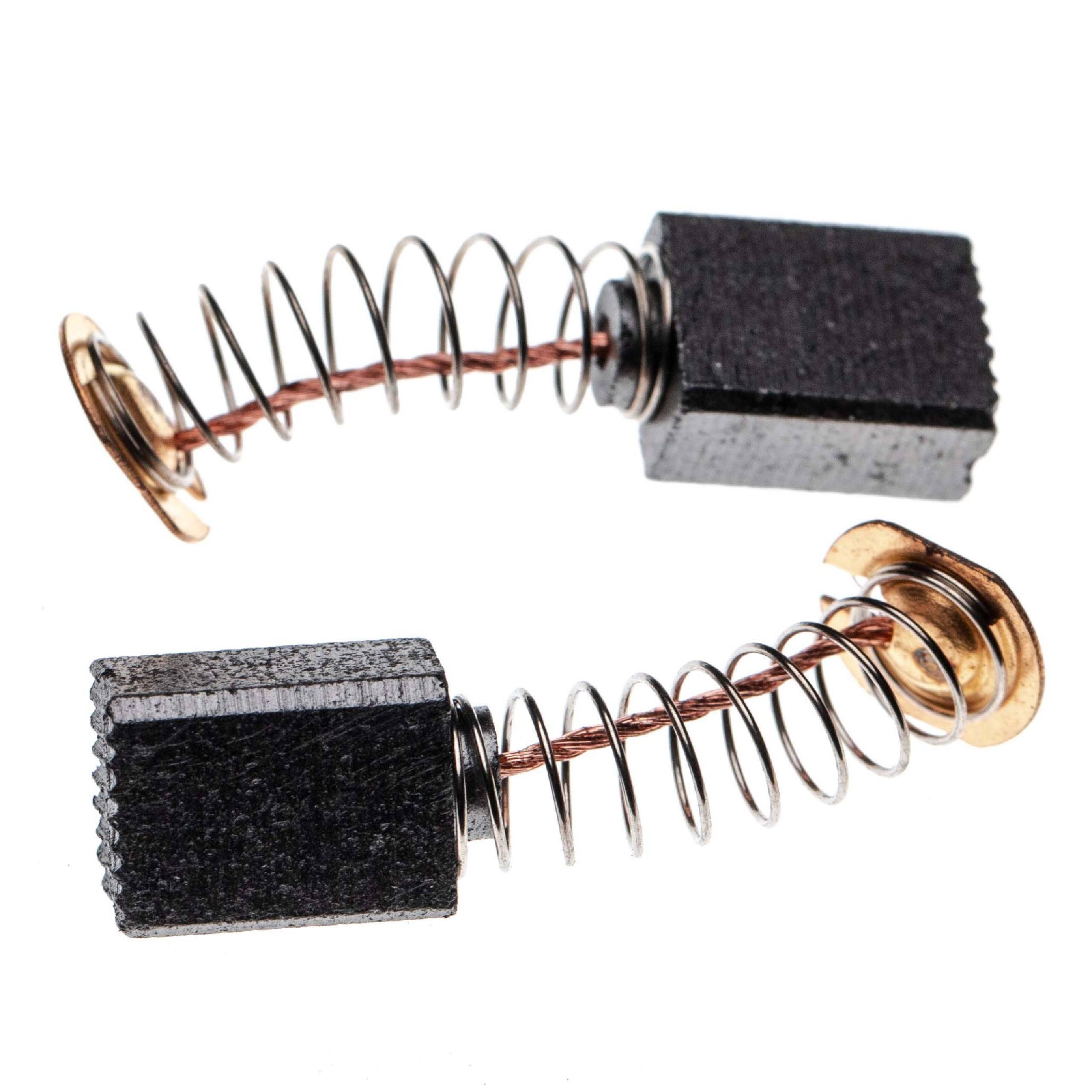 2x Schleifkohlen Kohlebürsten Kohlen für diverse Elektro-Werkzeuge z.B. Makita