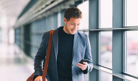 WLAN-Hotspots sind auch für Geschäftsreisen ideal