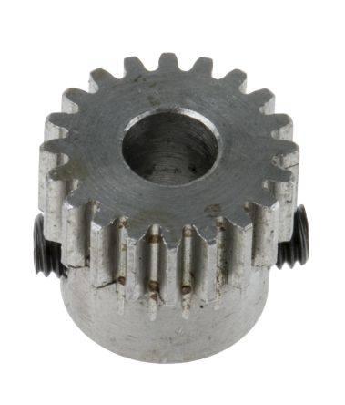 Stirnzahnrad Modul 0,5 aus Messing Zahnrad 25 Zähne ohne Nabe