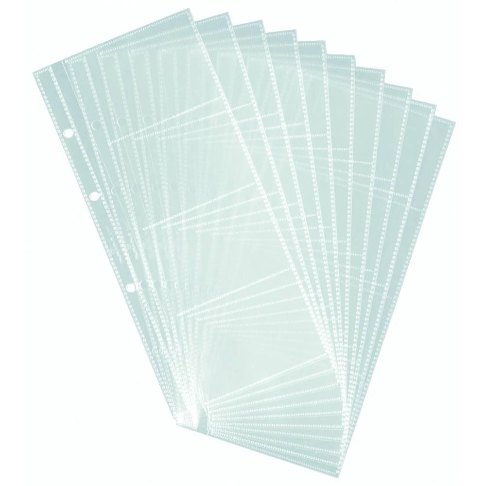 transp. für 20 Karten 90x57mm Durable Visitenkartenhülle für VISIFIX® A4
