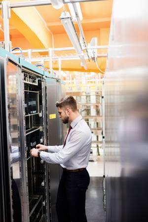 Serverraum-Klima überwachen