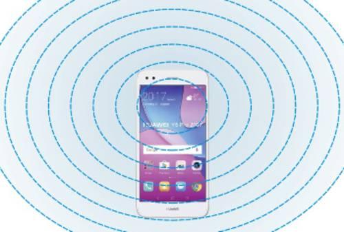 Funkwellen des Bluetooth