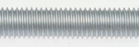 1 Stück Gewindestangen DIN 975 Stahl M 12 x 1,5 galv verzinkt gal Zn Inhalt