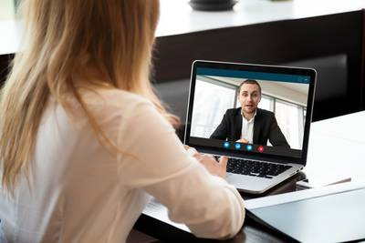 Videokonferenzen statt persönlicher Meetings