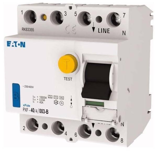 FI-Schutzschalter 40A//30mA 4polig PXF-40//4//003-A Moeller Eaton FI-Schalter RCD
