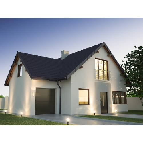 Aussenbeleuchtung-Haus