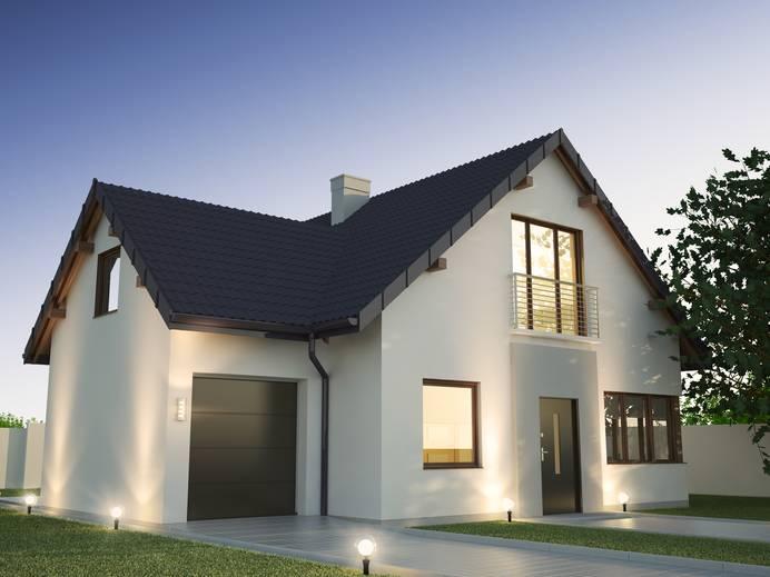 Die richtige Beleuchtung lässt das Haus gleich viel wohnlicher erscheinen