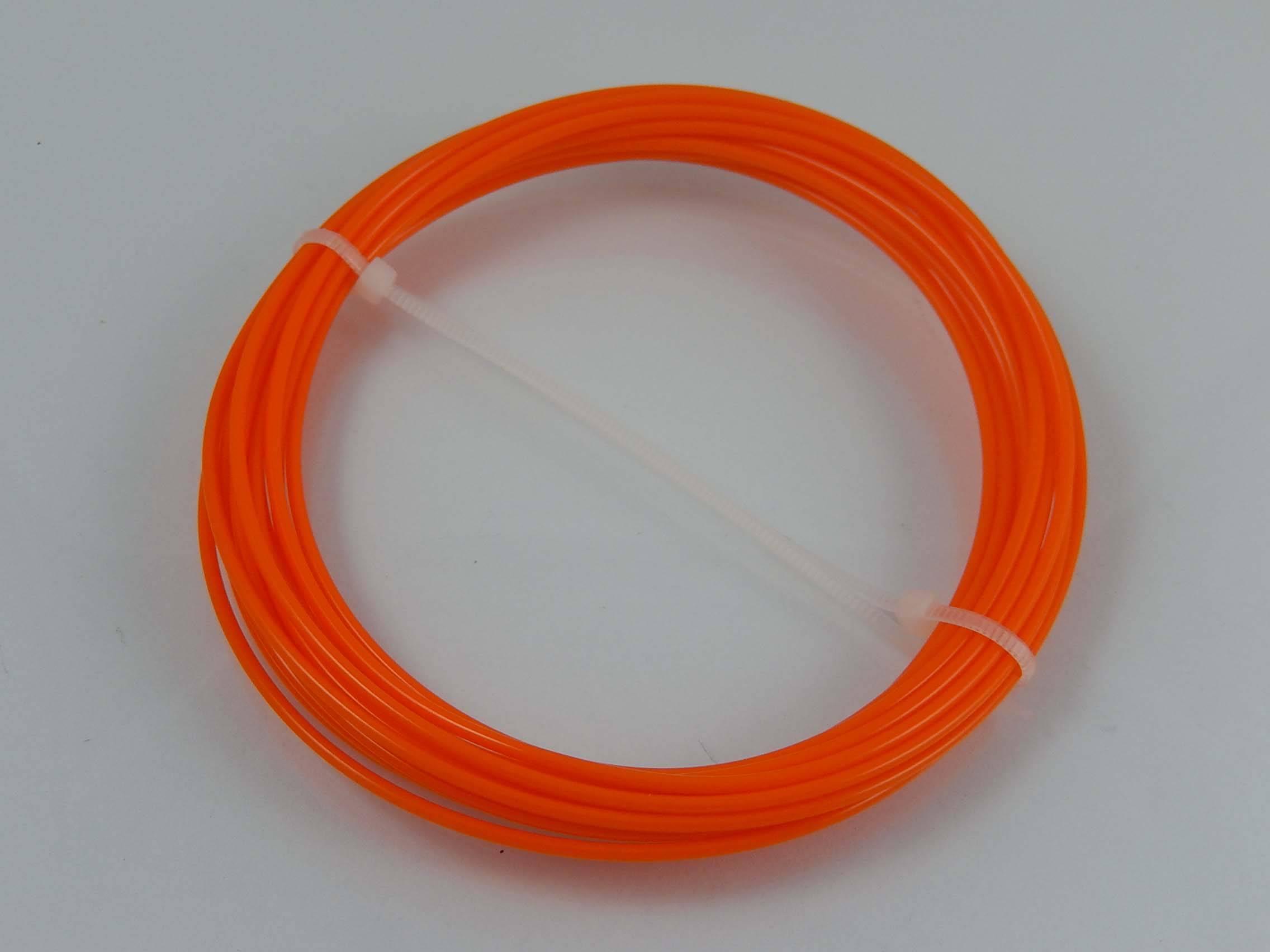 1-kg-Spule Basics 3D-Drucker-Filament aus PETG-Kunststoff 1,75 mm Orange
