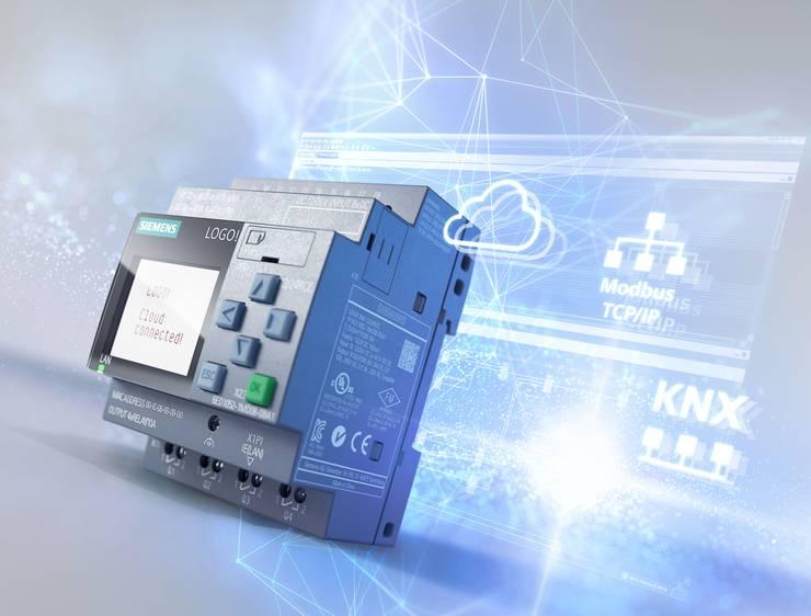 Mit dem LOGO! 8.3 von Siemens lassen sich Automatisierunsaufgaben lösen.