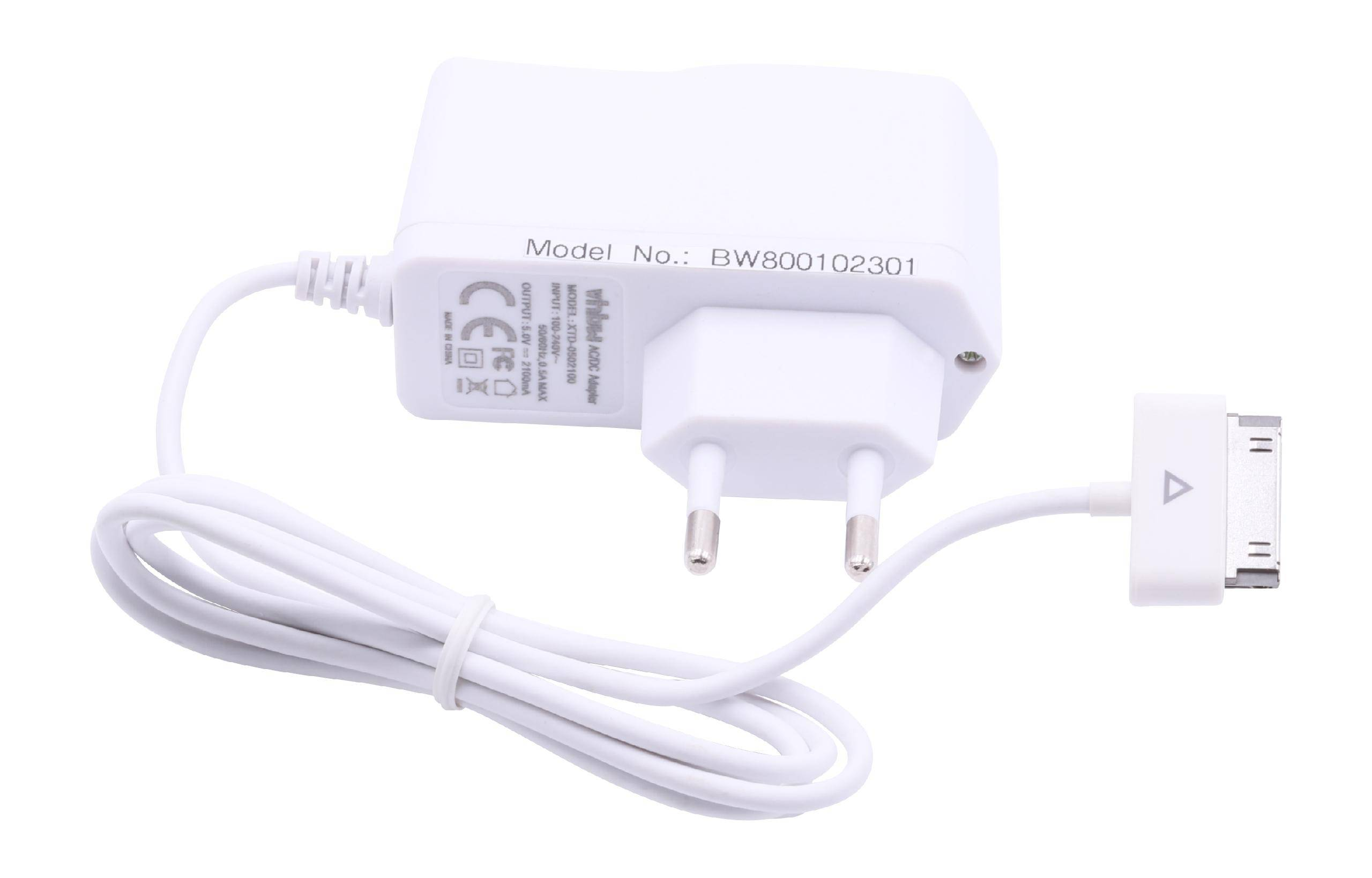 vhbw 220V Netzteil Ladegerät Ladekabel für Samsung Galaxy Tab 10.1, 2 10.1, 2 10.1 16GB, 2 10.1 32GB, 2 10.1 Wlan, 2 10.