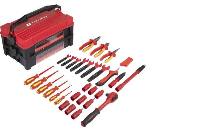 TOOLCRAFT Elektriker Werkzeugset