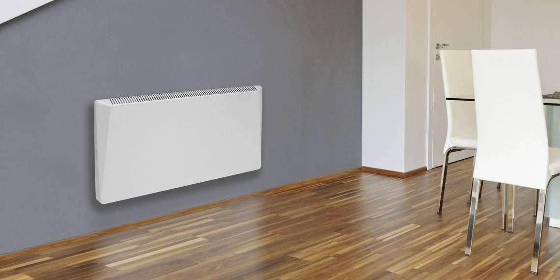 Konvektor für die Wandmontage mit Display und Kontrollsystem
