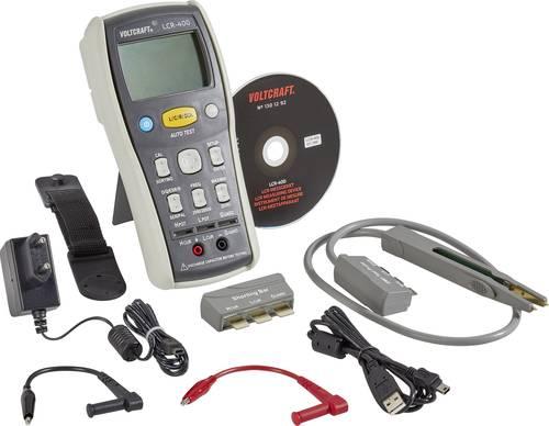 VOLTCRAFT LCR-400 Komponententester digital CAT I Anzeige