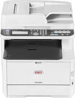 OKI MC363dn Farblaser Multifunktionsdrucker A4 Drucker, Scanner, Kopierer, Fax LAN, Duplex, Duplex-ADF