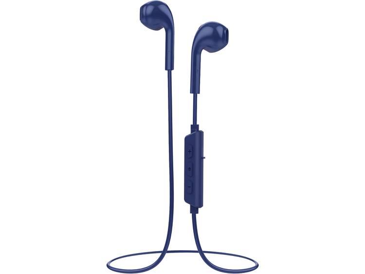Vivanco VIVANCO Smart Air 3, Bluetooth In-Ear Kopfh�¶rer, blau Bluetooth Sport In Ear oordopjes Blauw
