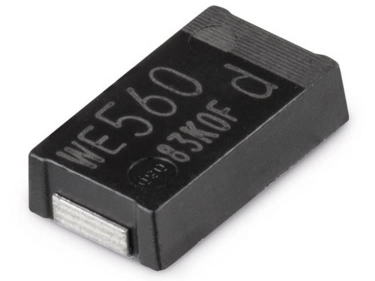 Würth Elektronik WCAP-PHGP Aluminum Polymer Capacitors Elektrolytische condensator 7343 33 µF 25 V 1 stuks