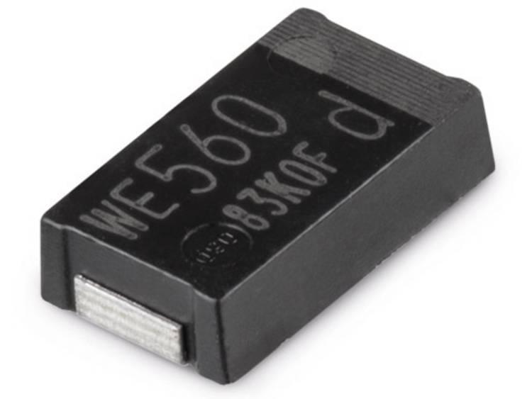 Würth Elektronik WCAP-PHSE Aluminum Polymer Capacitors Elektrolytische condensator 7343 330 µF 2 V 1 stuks
