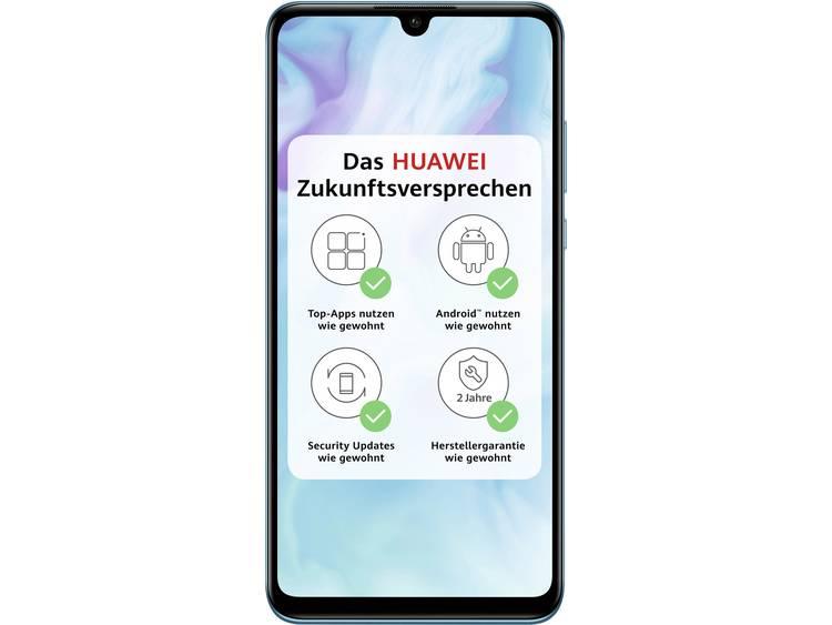 HUAWEI P30 lite Smartphone 128 GB 6.15 inch (15.6 cm) Dual-SIM Android 9.0 48 Mpix Peacock Blue