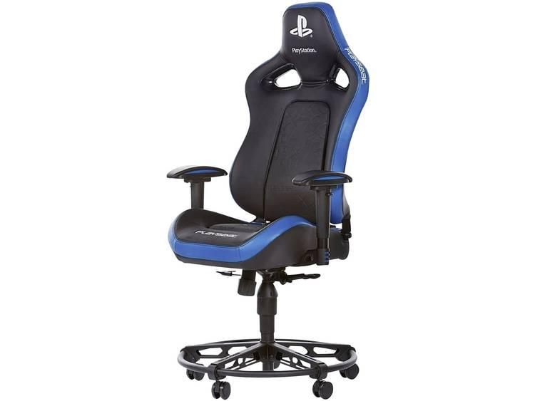 Playseats L33T PLAYSTATION Gaming stoel Zwart, Blauw