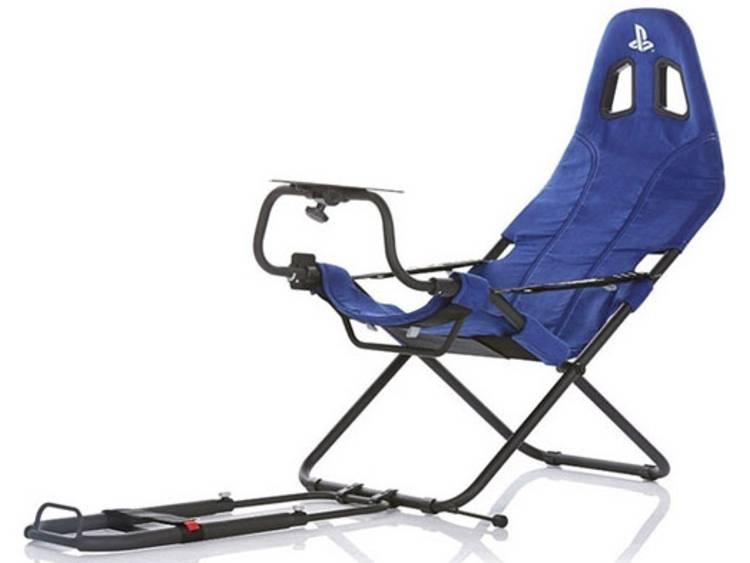 Playseats CHALLENGE PLAYSTATION Gaming stoel Blauw, Zwart