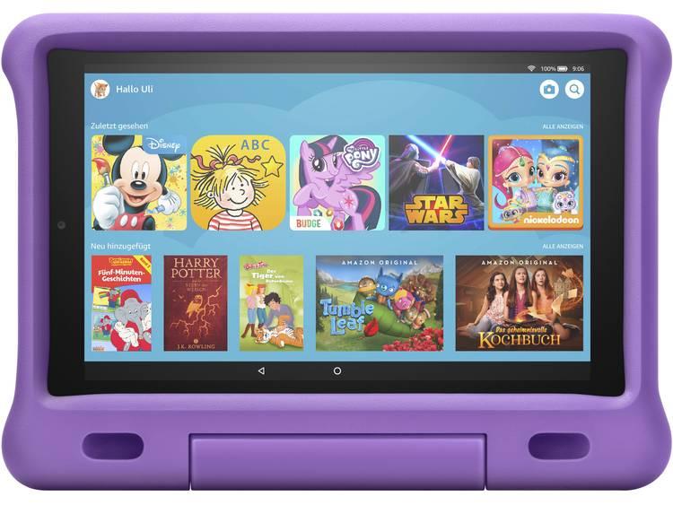 amazon Fire HD 10 Kids Android-tablet 25.7 cm (10.1 inch) 32 GB WiFi Violet 2 GHz MediaTek 1600 x 1200 pix