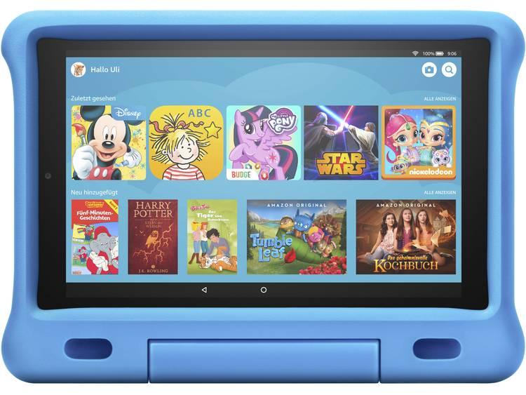 amazon Fire HD 10 Kids Android-tablet 25.7 cm (10.1 inch) 32 GB WiFi Blauw 2 GHz MediaTek 1600 x 1200 pix