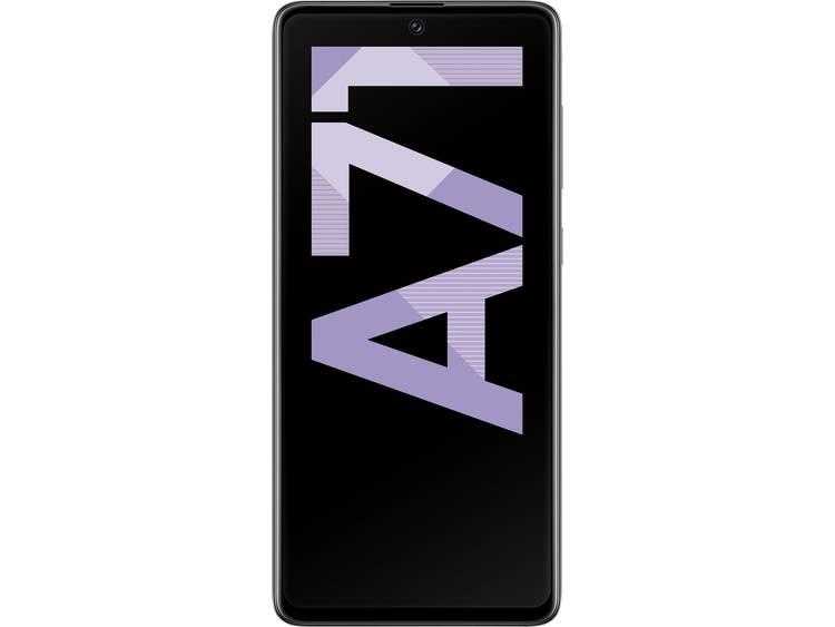 Samsung Galaxy A71 LTE Dual-SIM smartphone 128 GB 6.7 inch (17 cm) Dual-SIM Android 1.0 64 Mpix, 12 Mpix, 5 Mpix, 5 Mpix Zwart
