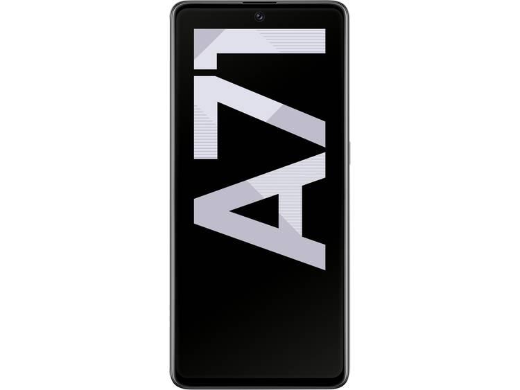 Samsung Galaxy A71 LTE Dual-SIM smartphone 128 GB 6.7 inch (17 cm) Dual-SIM Android 1.0 64 Mpix, 12 Mpix, 5 Mpix, 5 Mpix Zilver