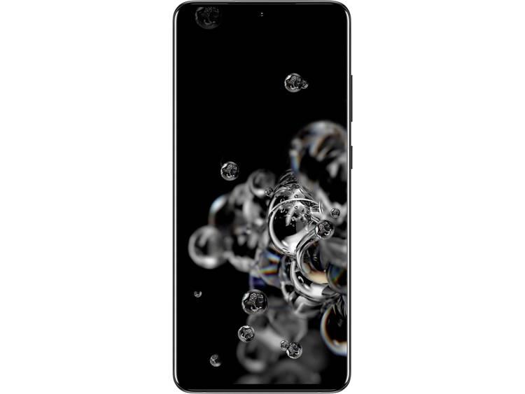 Samsung Galaxy S20 Ultra LTE Dual-SIM smartphone 128 GB 6.9 inch (17.5 cm) Hybrid-SIM Android 1.0 108 Mpix, 12 Mpix, 12 Mpix Zwart