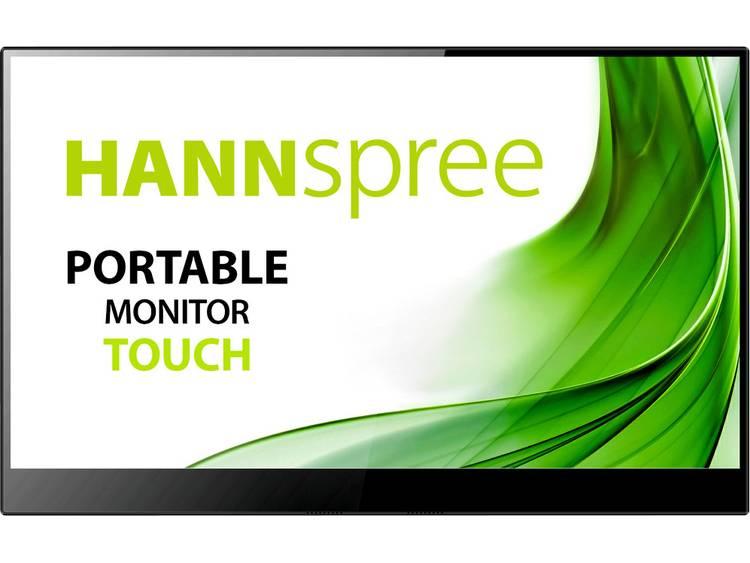 Hannspree HT161CGB LCD-monitor 39.6 cm (15.6 inch) Energielabel A+ (A+++ – D) 1920 x 1080 pix Full HD 15 ms ADS LED