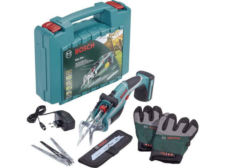 Bosch Home and Garden Keo Set 0600861906 Tuinzaag Accu 150 mm
