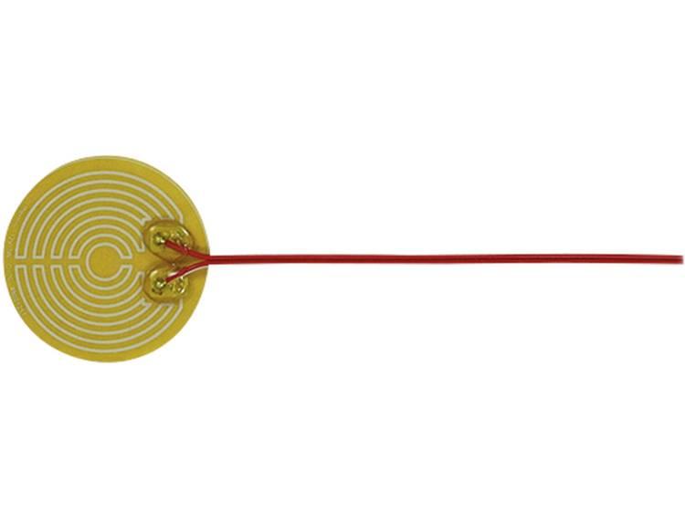 Thermo Polyester Verwarmingsfolie Zelfklevend 12 V/DC, 12 V/AC 3 W Veiligheidstype IPX4 (Ø) 70 mm